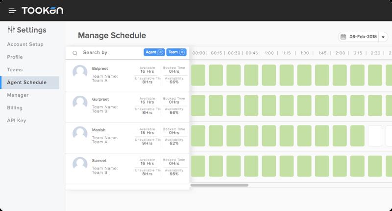 control agent schedule
